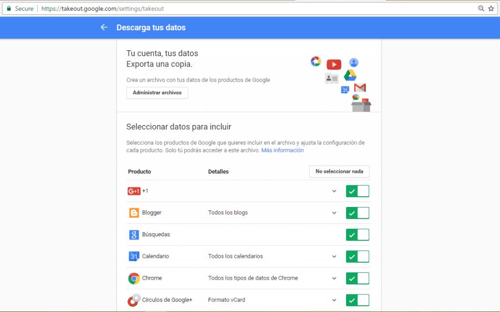 exporta-google